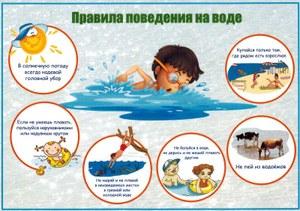 Безопасность на воде в летнее время